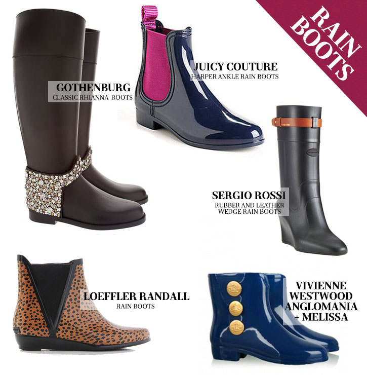 5 Rain Boots That We Plan To Rock During April Showers