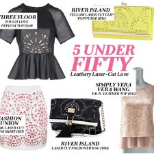 5 Under Fifty: Leathery Laser-Cut Love