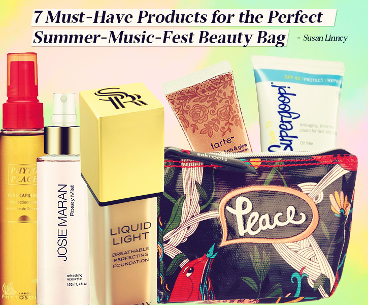 7 Must Have Products For The Perfect Summer Music Fest Beauty Bag