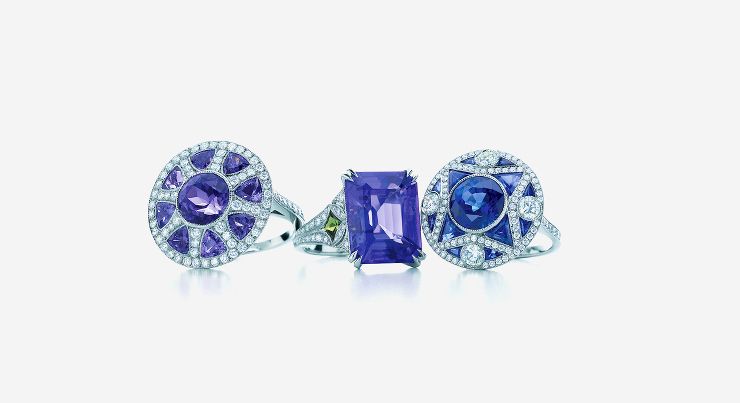 The Great Gatsby Collection Sapphire Ring