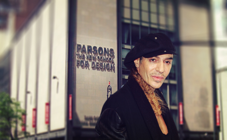 Galliano's New Gig As A Professor At Parsons