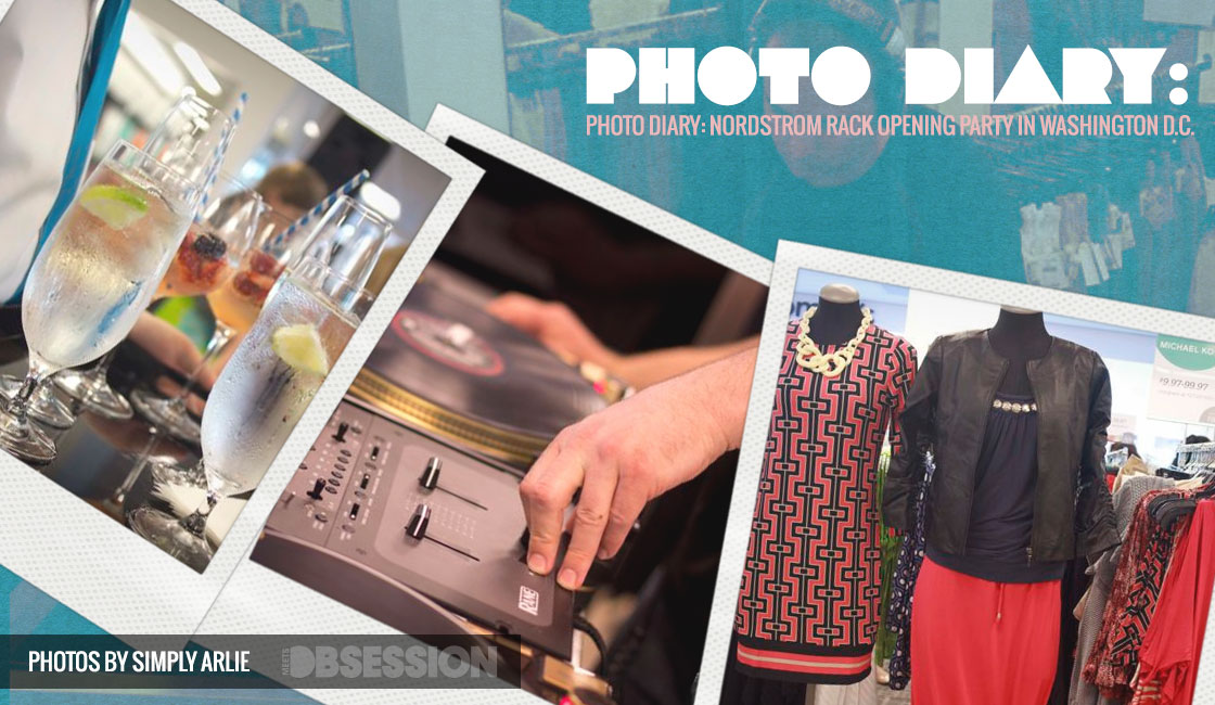 Photo Diary: Nordstrom Rack Opening Party In Washington D C