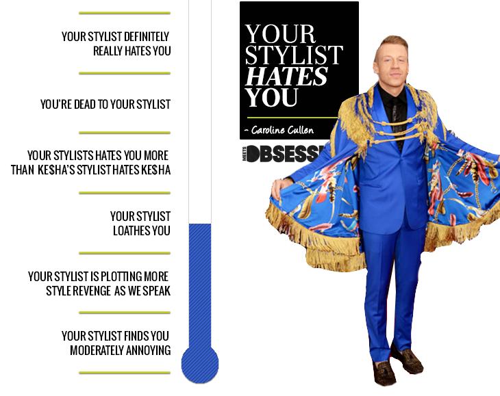 Your Stylist Hates You Macklemore