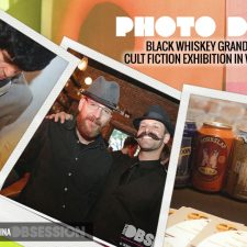 Photo Diary: Black Whiskey Grand Opening & Cult Fiction Exhibition in Washington D.C.