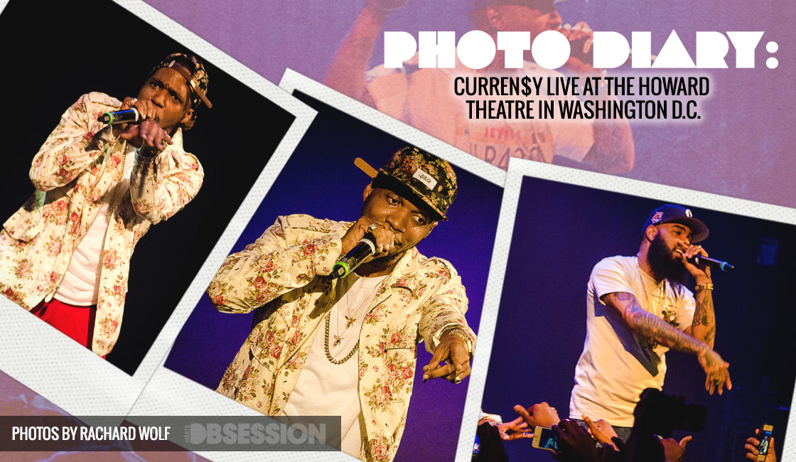 CURREN$Y At LIVE At The HOWARD THEATER In Washington D.C.