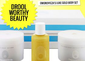 Drool Worthy Beauty Omorovicza's Luxe Gold Body Set
