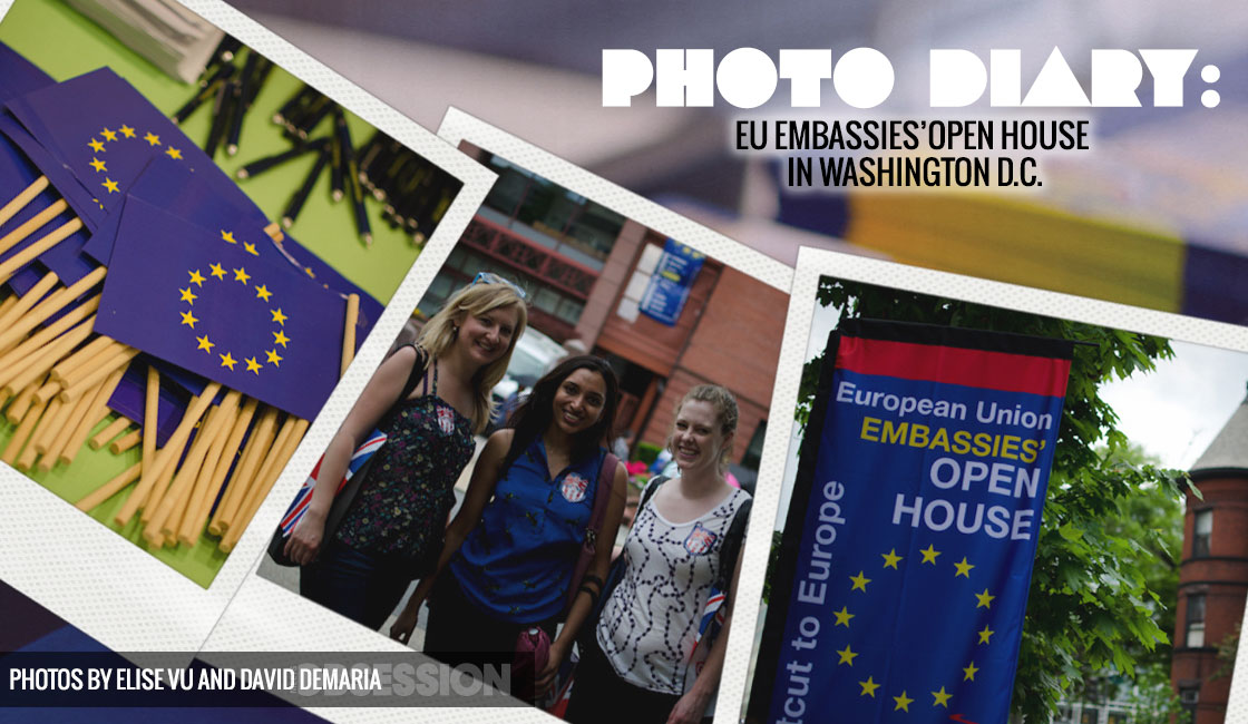 EU Embassy Open Houses In Washington, D C