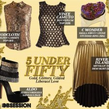 Five Under $50: Gold, Glittery, Gilded Liberace Love
