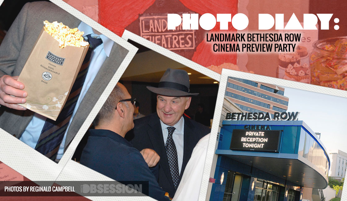 Photo Diary: Landmark Bethesda Row Cinema Preview Party