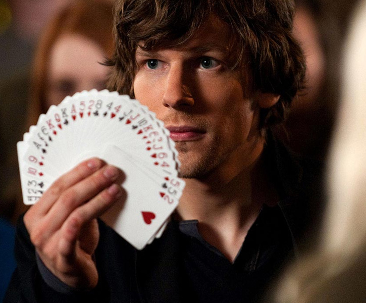 "Jesse Eisenberg in ""Now You See Me."""