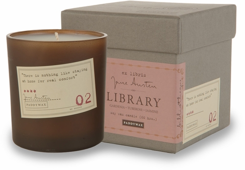 Paddywax Jane Austen Candle