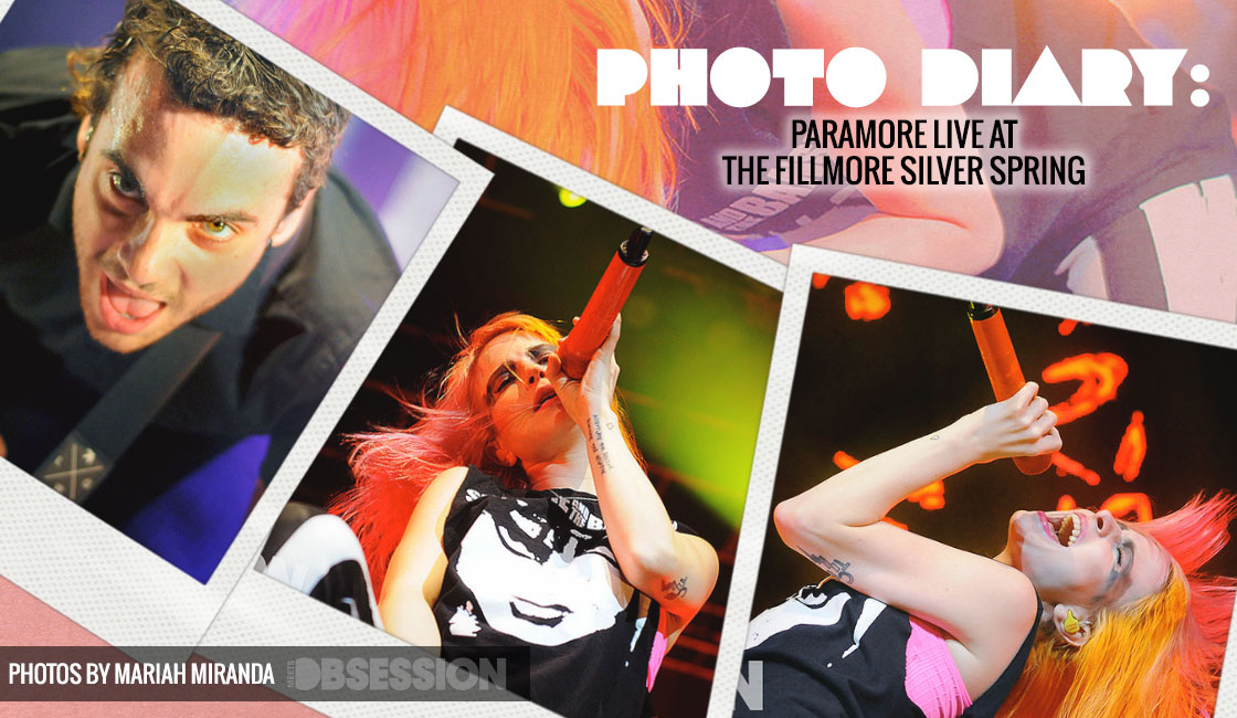 Paramore LIVE At The Fillmore Silver Spring