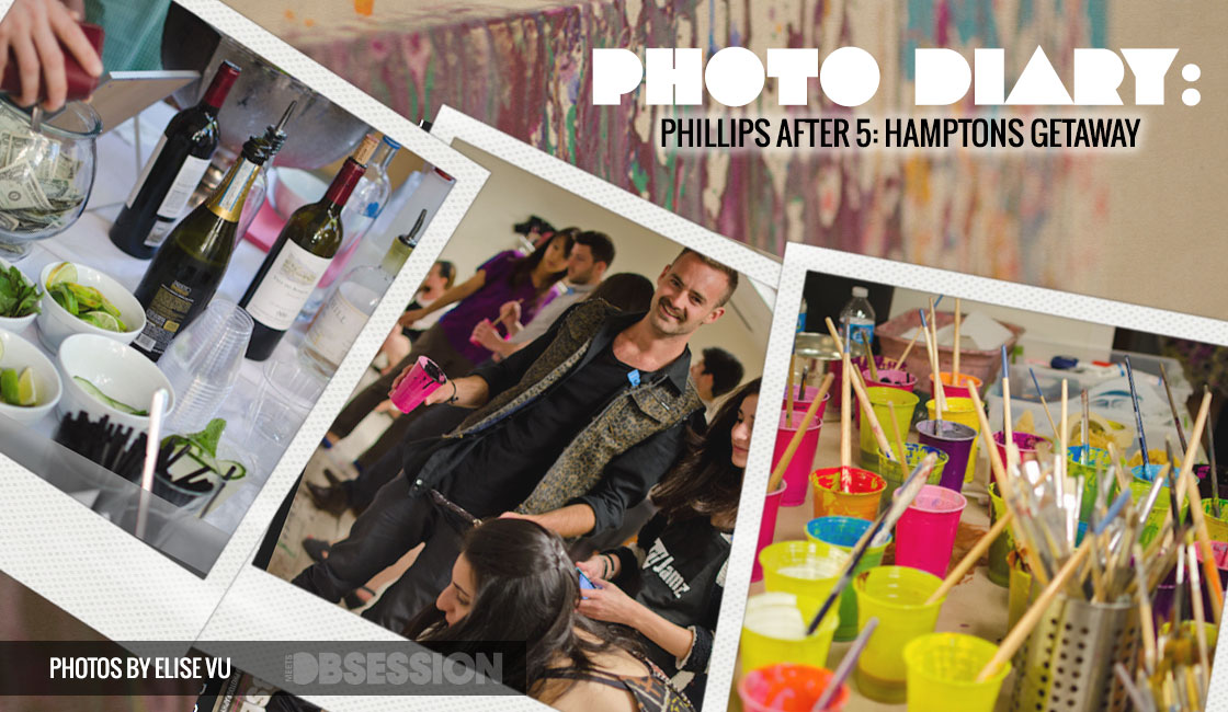 Photo Diary: Phillips After 5: Hamptons Getaway in Washington, D.C.
