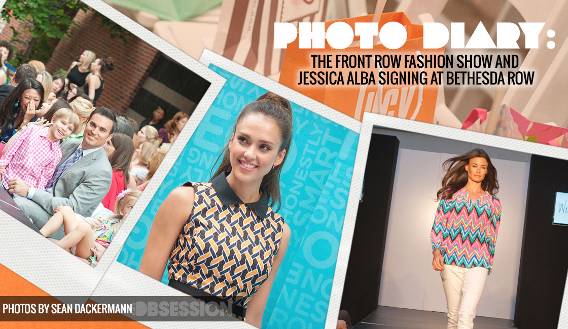 The Front Row Fashion Show And Jessica Alba Signing At Bethesda Row
