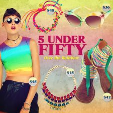 Five Under Fifty: Over the Rainbow With Pride