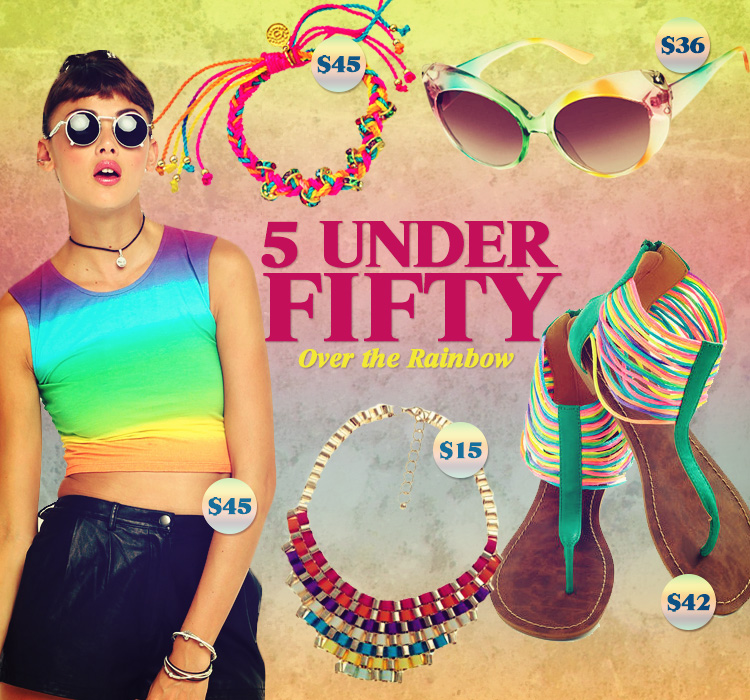 5 Under Fifty: Over The Rainbow