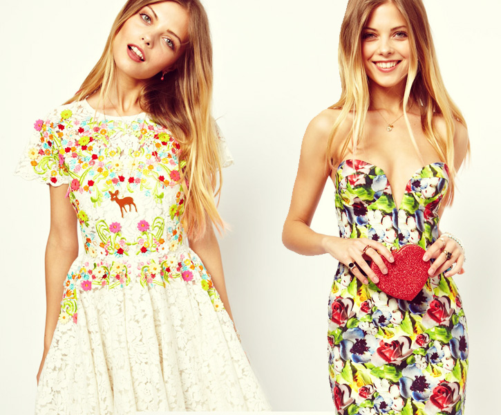 ASOS Salon's Very Floral Vintage Capsule Collection