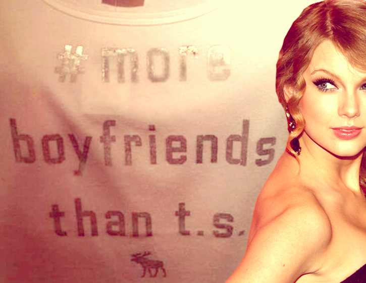 Abercrombie & Fitch Feels The Tweener Wrath Of Taylor Swift Fans For Selling Funny T Shirt
