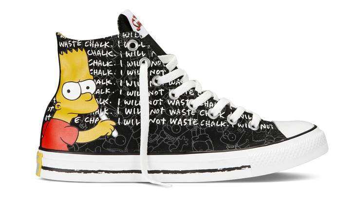 "Converse Gets In On ""The Simpsons"" Franchise With A Collection Springfield Themed Sneakers"