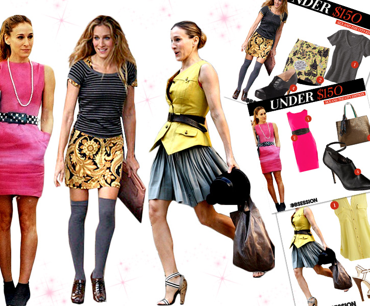 Looks Under $150 Get Carried Away With The Best Carrie Bradshaw Looks – SATC Anniversary Edition2