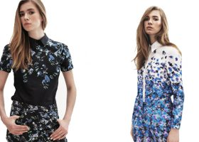 See Erdem's Femininely Floral Capsule Collection For Matches