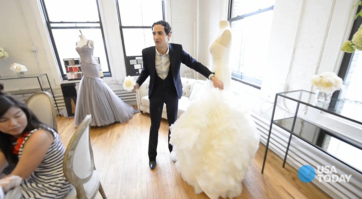 Zac Posen Gets Into The Wedding Business With David Bridal