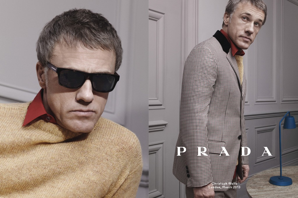 Prada Taps Ezra Miller, Christoph Waltz and Ben Wishaw for Ad Campaign