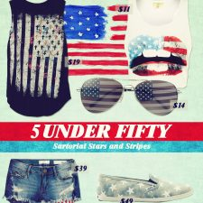 Five Under Fifty: Sartorial Stars & Stripes