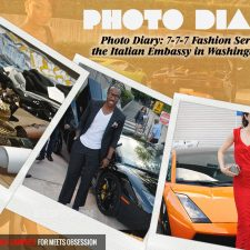 Photo Diary: 7-7-7 Fashion Series at the Italian Embassy in Washington D.C.
