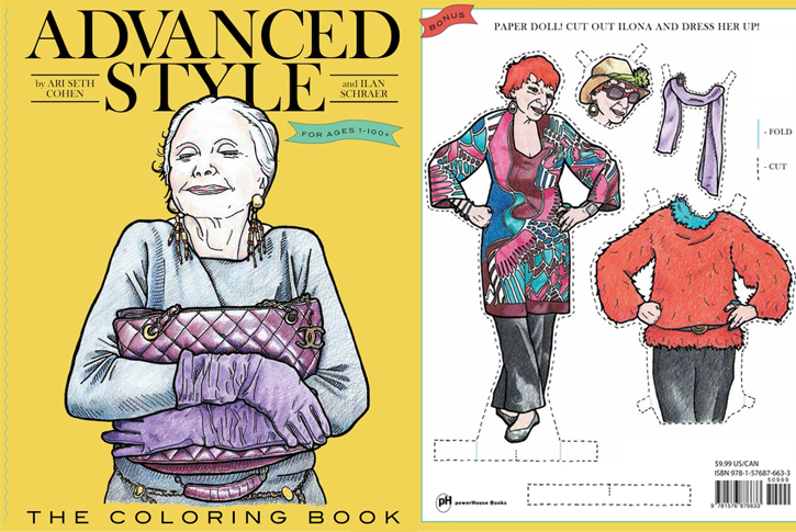 Advanced Style Gets Its Own Street Style Coloring Book Obsessed Magazine