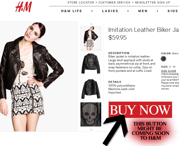 An H&M E Commerce Site Might Actually Happen This August, According To Tweet