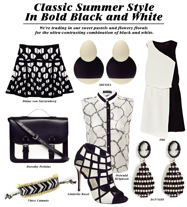 Classic Summer Style In Bold Black And White Picks