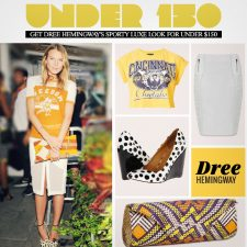 Get Dree Hemingway's Sporty Luxe Look for Under $150