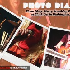 Photo Diary: Heavy Breathing Performs LIVE at Black Cat in Washington, D.C.
