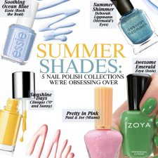 Summer Shades: Five Nail Polish Collections We're Obsessing Over