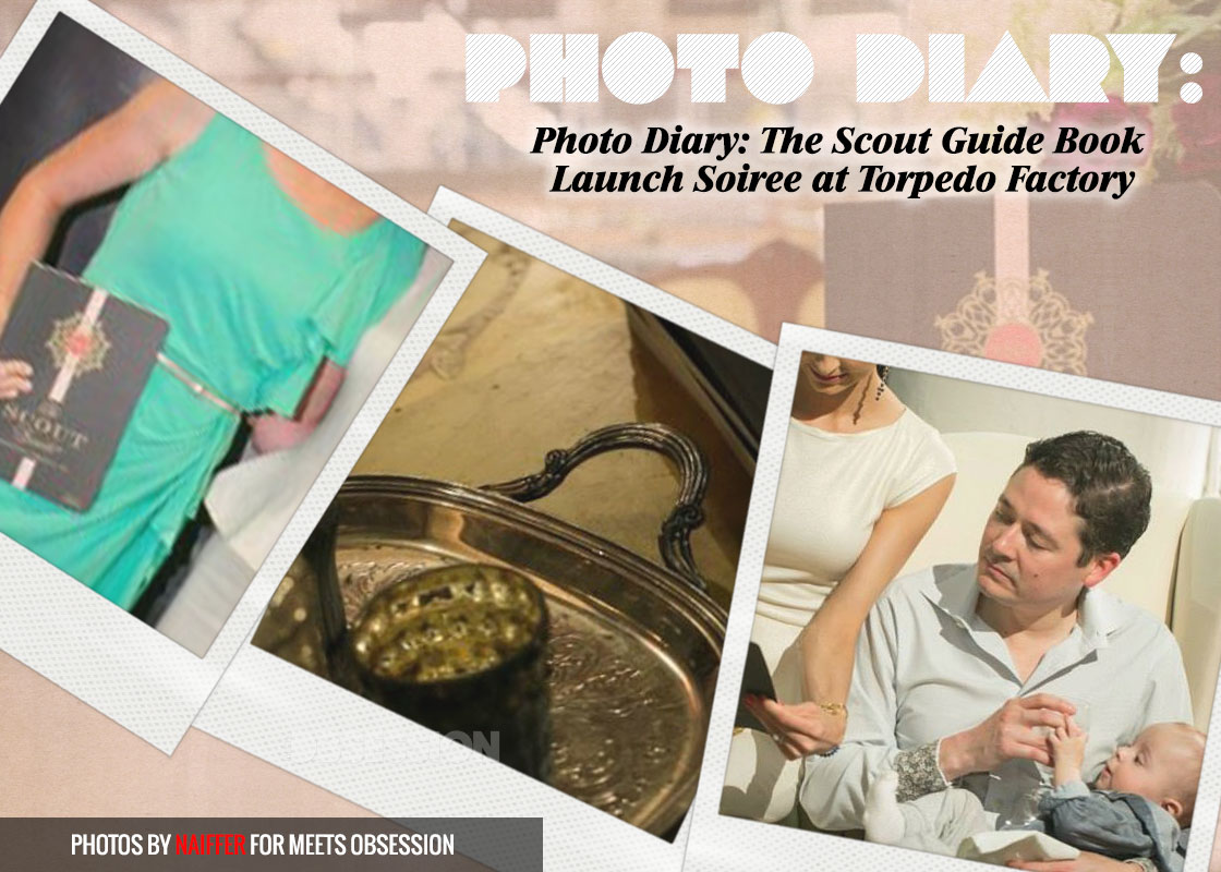 Photo Diary: The Scout Guide Book Launch Soiree at Torpedo Factory