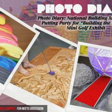 "Photo Diary: National Building Museum's Putting Party for ""Building the Future"" Mini Golf Exhibit"