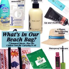 What's in Our Beach Bag? 7 Summer Musts, Plus the Coolest Tote for Carrying It All