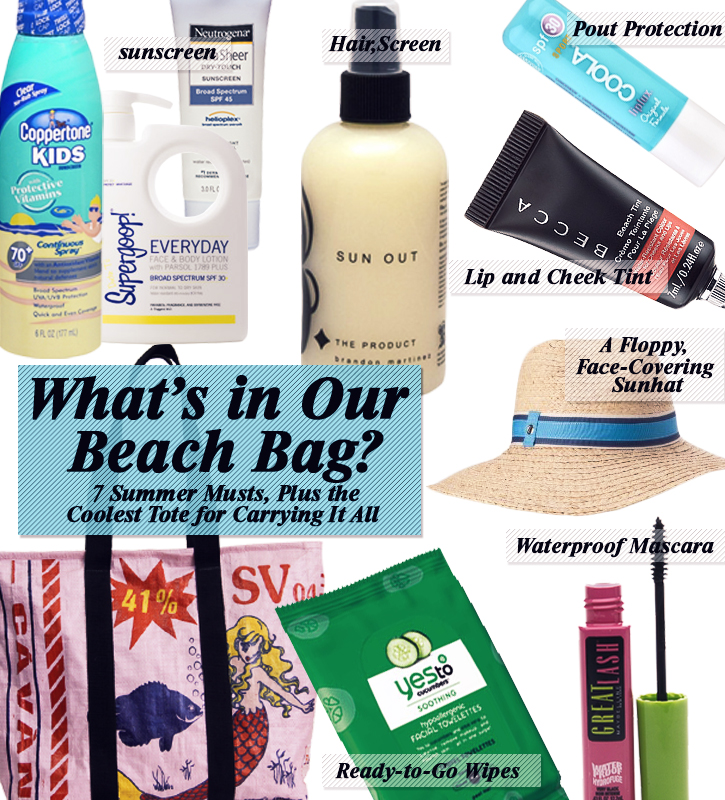 Whats In Our Beahc Bag