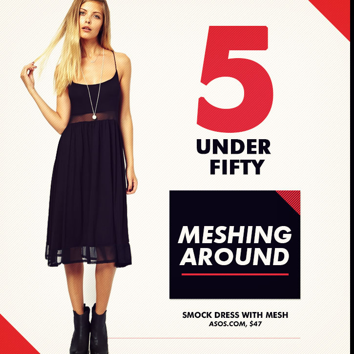 5 Under Fifty: Meshing Around