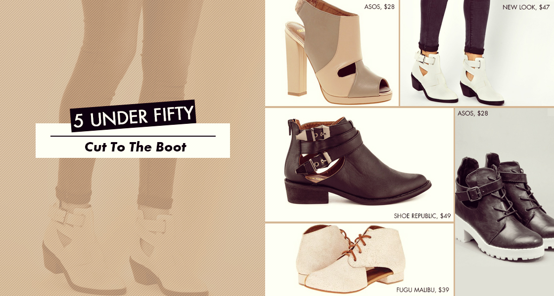 5 Under Fifty: Cut To The Boot