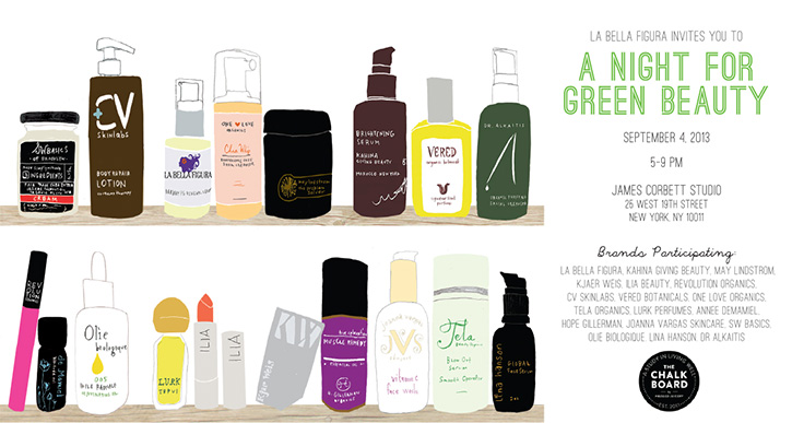 A One-of-a-Kind Organic Event: A Night for Green Beauty