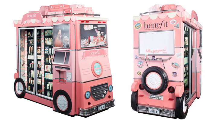 Beauty On The Go A Benefit Cosmetic's Vending Machine May Be Coming To An Airport Near You
