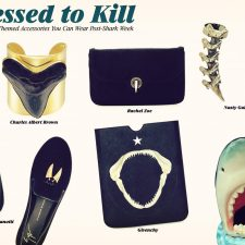 Dress to Kill With These Stylish Shark-Themed Accessories You Can Wear Post #SharkWeek