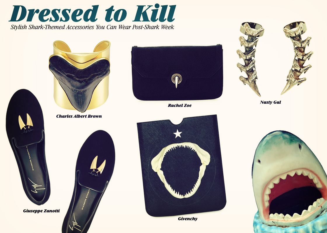 Dress To Kill With These Stylish Shark Themed Accessories You Can Wear Post Shark Week