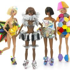 Barbie's Hip Hop to Avant Garde Makeover From London-Based Emerging Designers