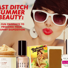 Last Ditch Summer Beauty: 8 Fun Products to Prolong Your Sunny Disposition