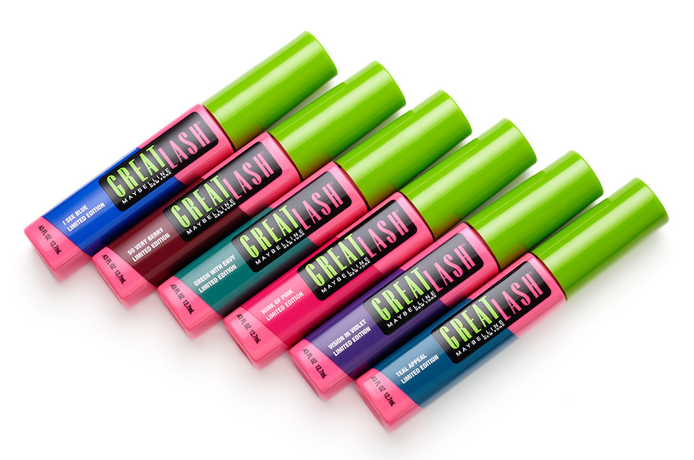 Maybelline Introduces Limited Edition Colored Mascara