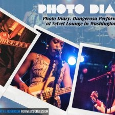 Photo Diary: Dangerosa Performs LIVE at Velvet Lounge in Washington, D.C.