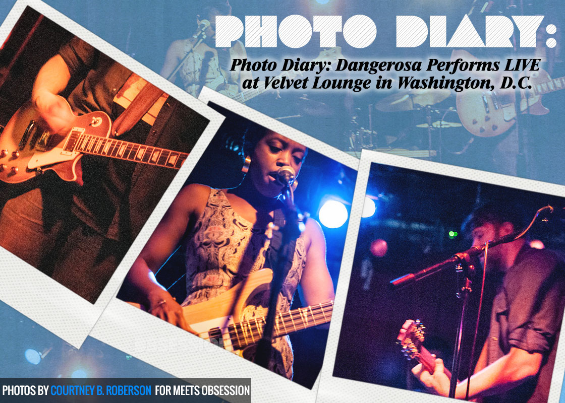 Photo Diary: Dangerosa Performs LIVE At The Velvet Lounge In Washington, D C